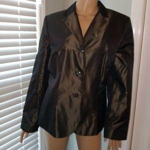 Ann Taylor silk blazer